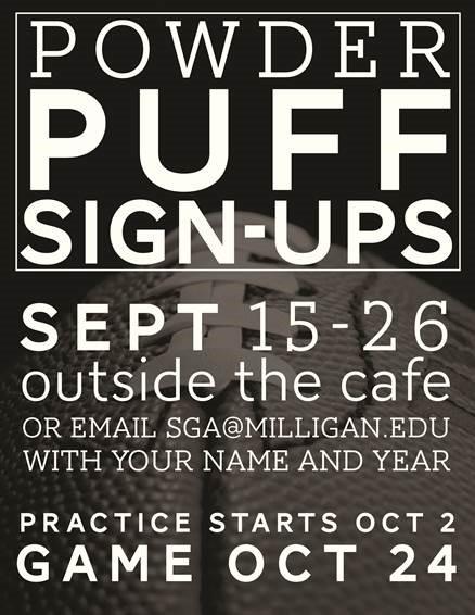 Powderpuff signups