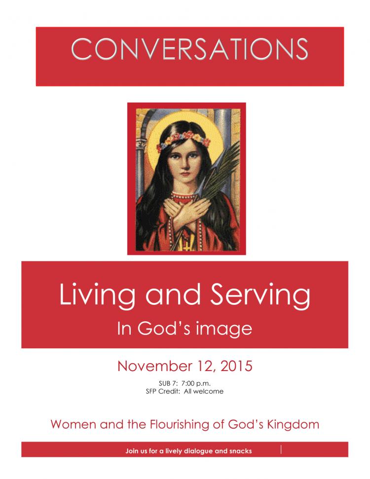 campus convo: women and the flourishing of God's Kingdom