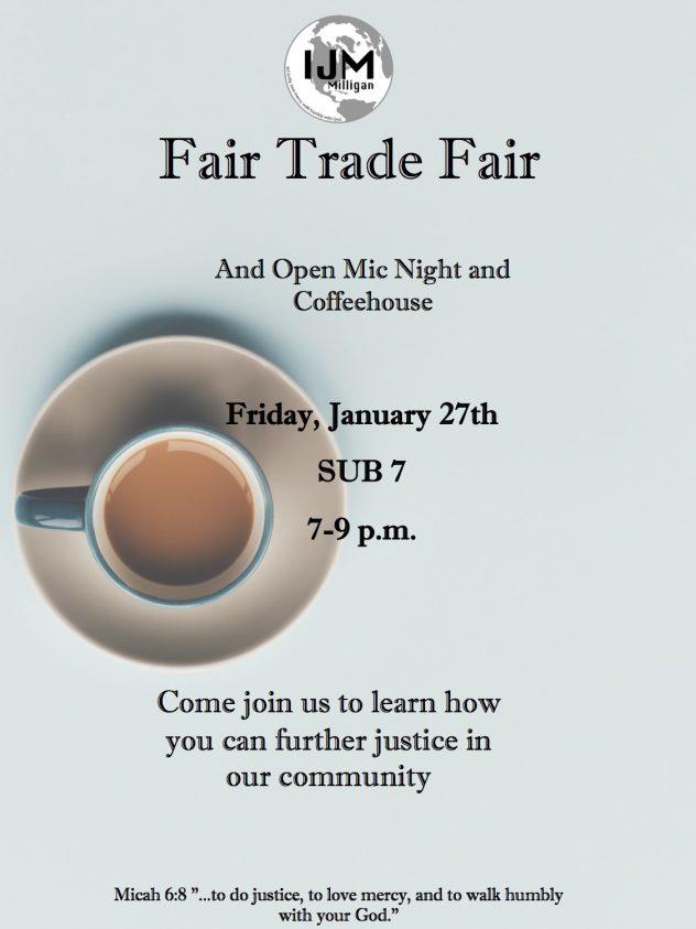 Fair trade fair poster