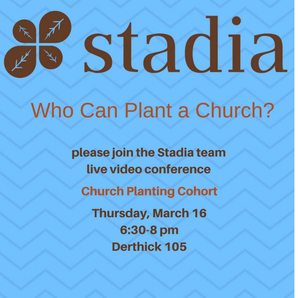 stadia church planting cohort